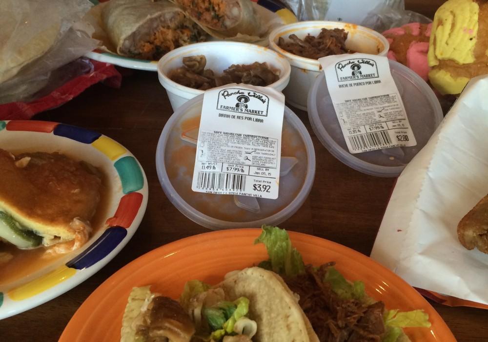Pancho Villa Menu Calories