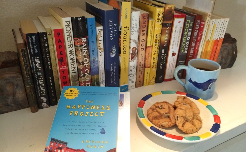 "January Read: ""The Happiness Project"""