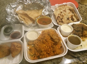 Lamb Vindaloo, Chicken Biryani, Samosas, Coconut Curry Soup, and more...
