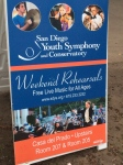 San Diego Youth Symphony  has free weekend rehearsal performances!