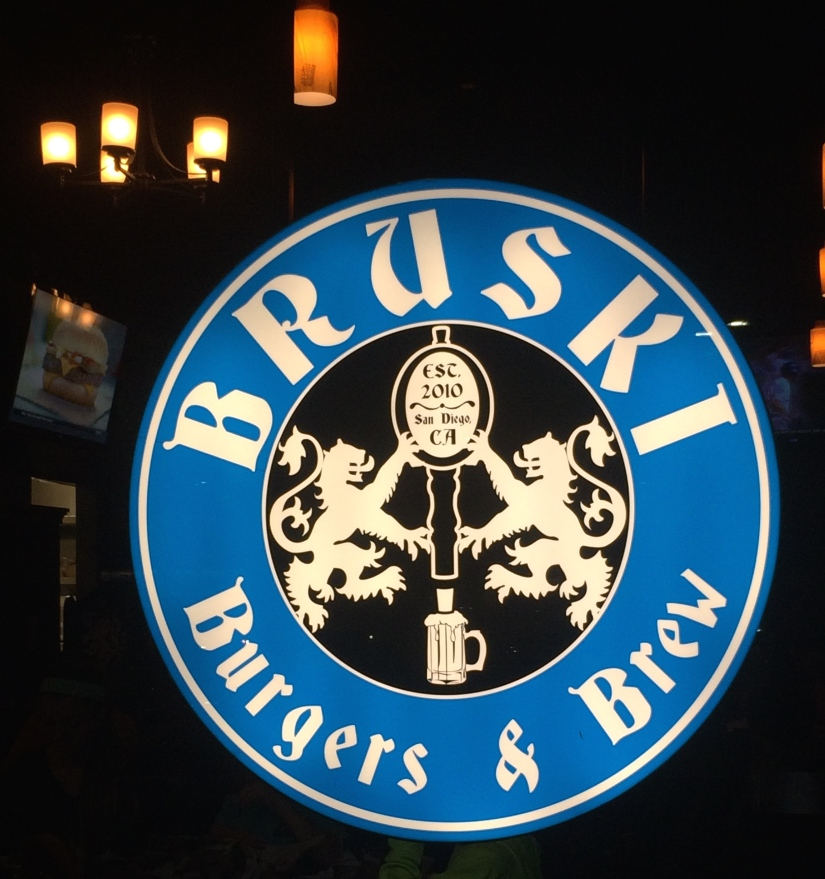 New Restaurant- Bruski in Mira Mesa (Look, Table!)