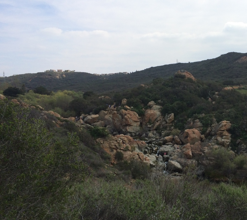 Peñasquitos Preserve, Waterfall to the West End
