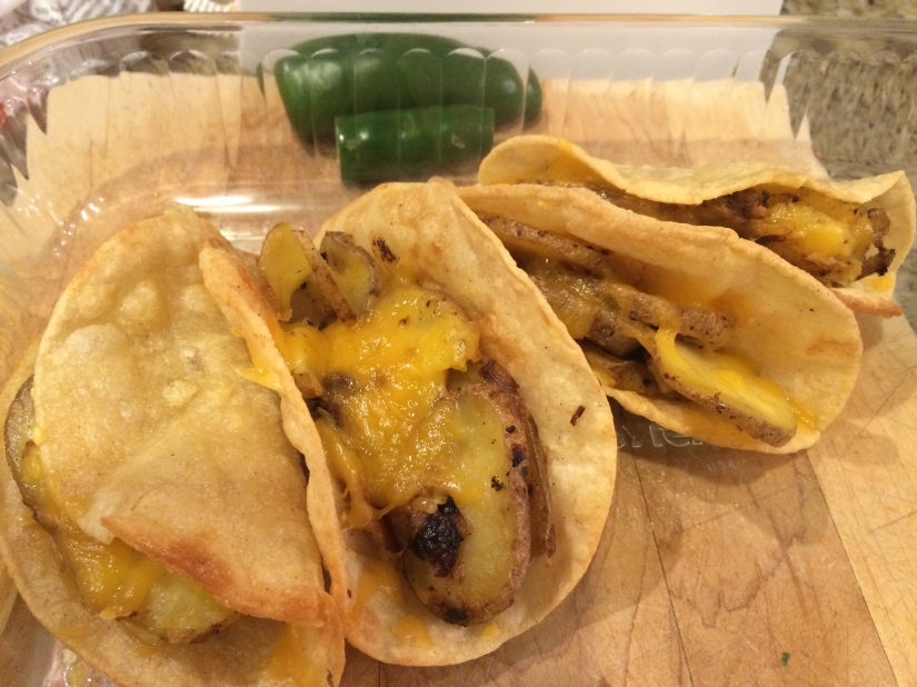 New Menu Monday- Potato Tacos!