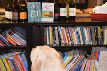 "Sure looks like she is leaning toward ""Hild,"" and check out all the wine we won at the school's raffle! We've NEVER won anything like that, WOO HOO!!!"