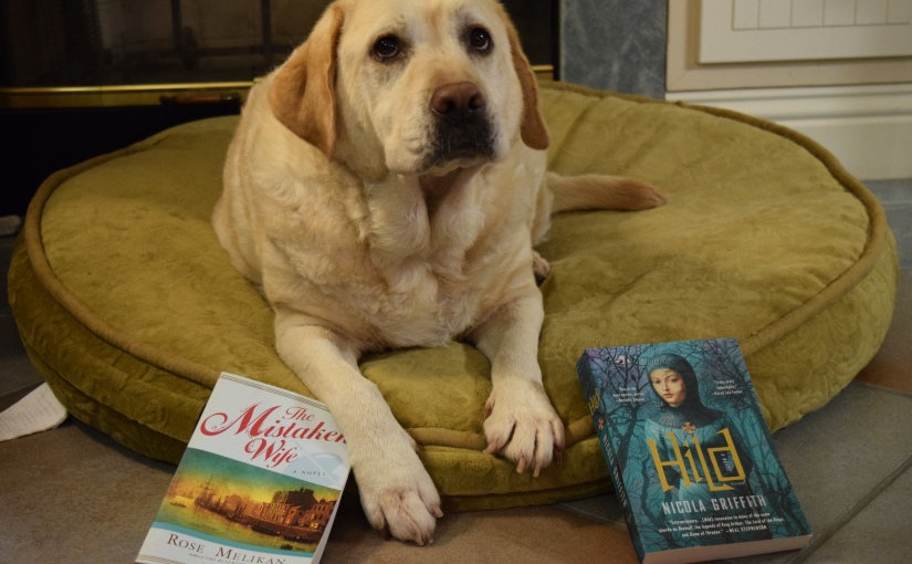 "March Read: Abby Picks Historical Fiction…. ""The Mistaken Wife"" or ""Hild"""