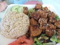 Ginger Tofu from The Loving Hut