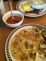 Roasted Garlic, Onion and Potato Frittata. T'was yummy.