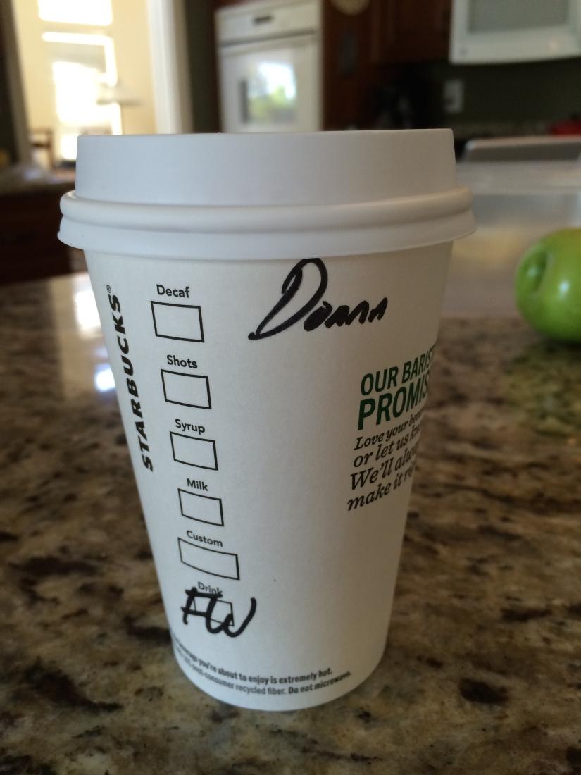 On Coffee…