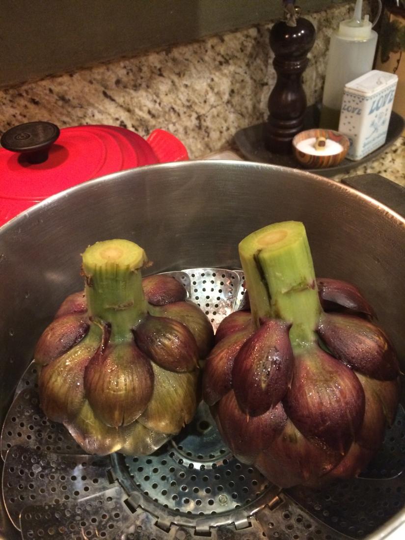 Purple Artichokes? Interesting, but How Do TheyTaste?