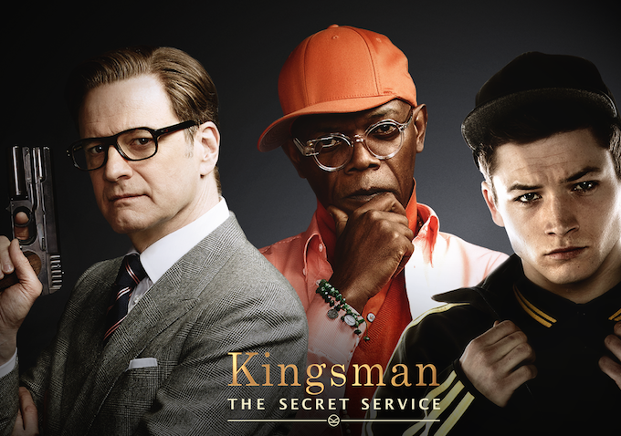 """Movie Review with The Boy- """"Kingsmen- The SecretService"""""""