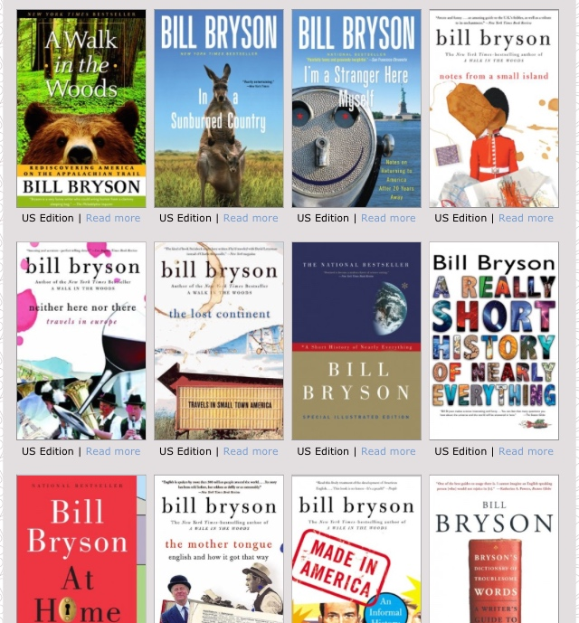 "April Read: Bill Bryson's ""The Lost Continent"""
