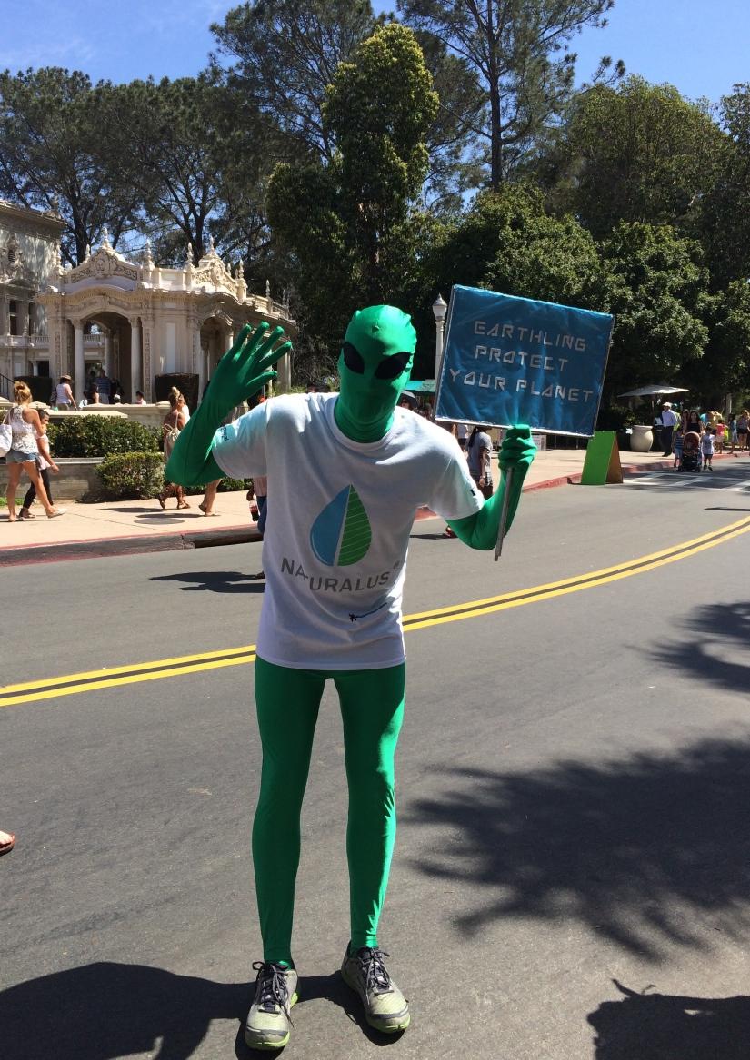 San Diego Earthworks- Earth Fair in BalboaPark…