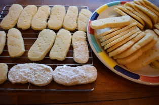 Really Good Lemon Shortbread Cookies