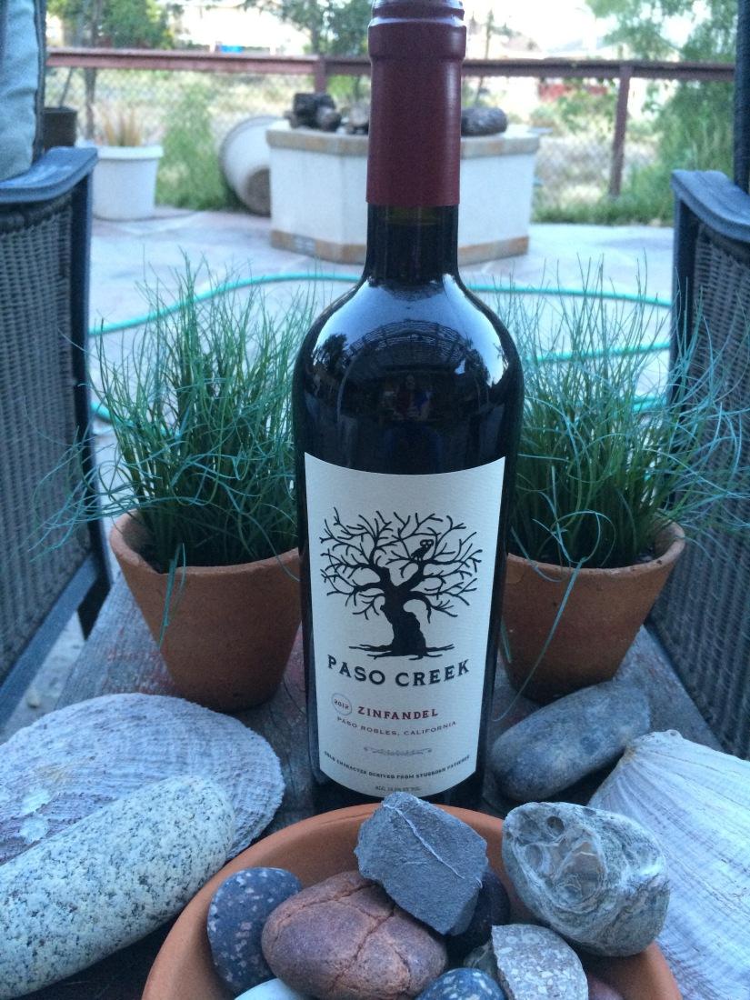 New Wine from the Winnings- Paso Creek Zinfandel2012