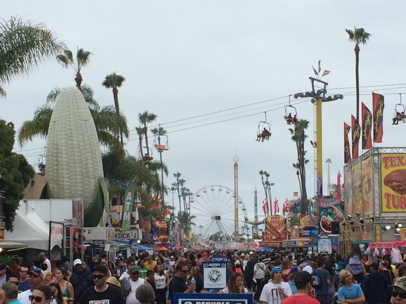 Part Two- Del Mar Fair, Finally! Snarky Good Fun…