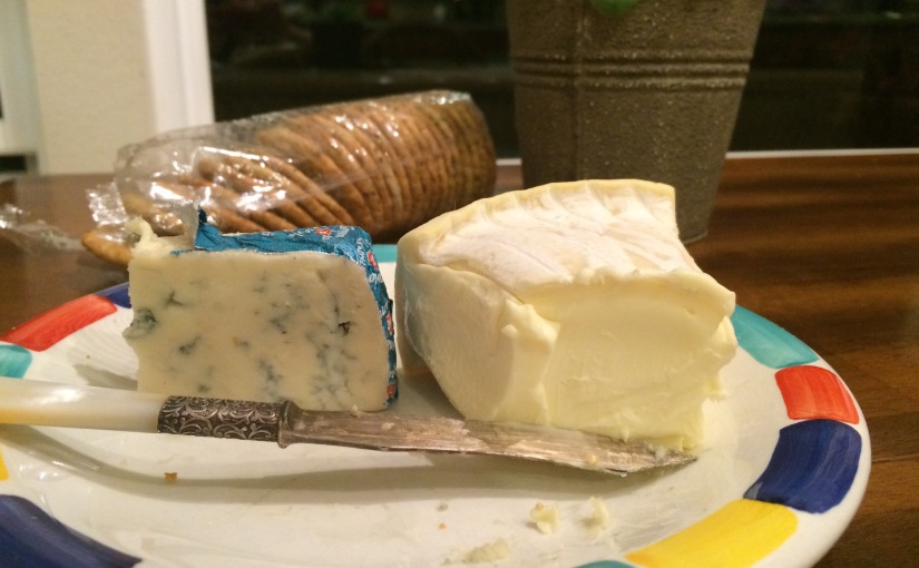 Specialty Cheeses- Italian Gogonzola Dolce and French Double Cream