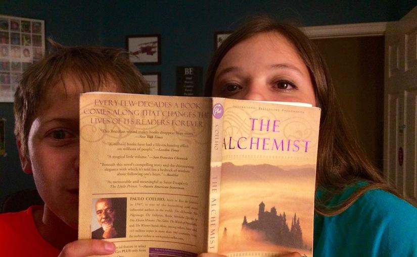 June Read: The Alchemist, by PauloCoelho