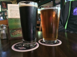 Coconut Castaway Porter and Got Nelson? IPA