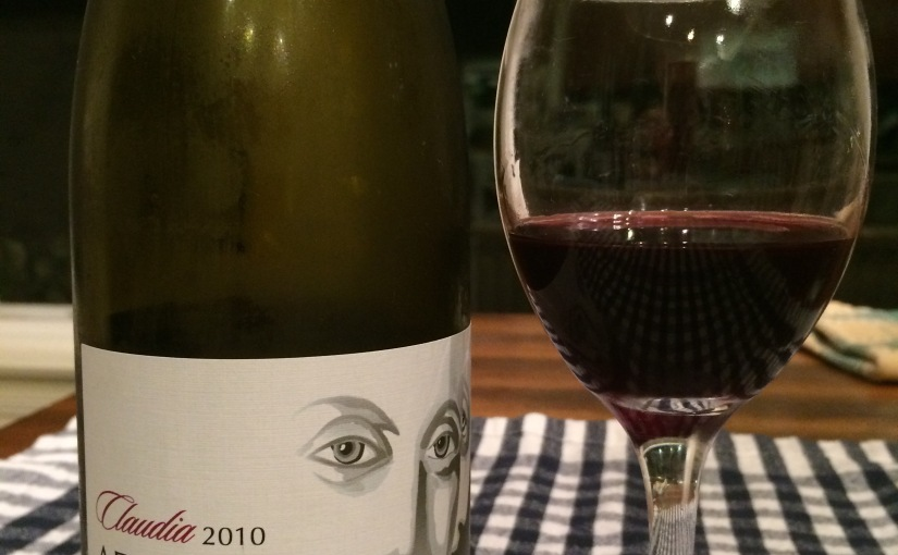 "Adelaida Cellers ""Claudia"" 2010- A Nice Red"