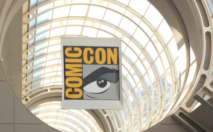 Scenes from San Diego's Comic Con International 2015… Wednesday preview day and early stuff