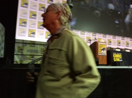 We really did sit in the front row... I could have tripped Bill Murray.