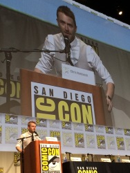 Chris Hardwick, our mod for the panel...