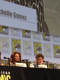 Steven Moffet, undoubtedly coming up with an evil plot using Michelle Gomez as Missy, aka The Master.