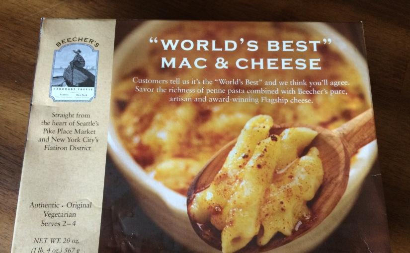"""Taste Testing- """"World's Best"""" Mac & Cheese? Proveit."""