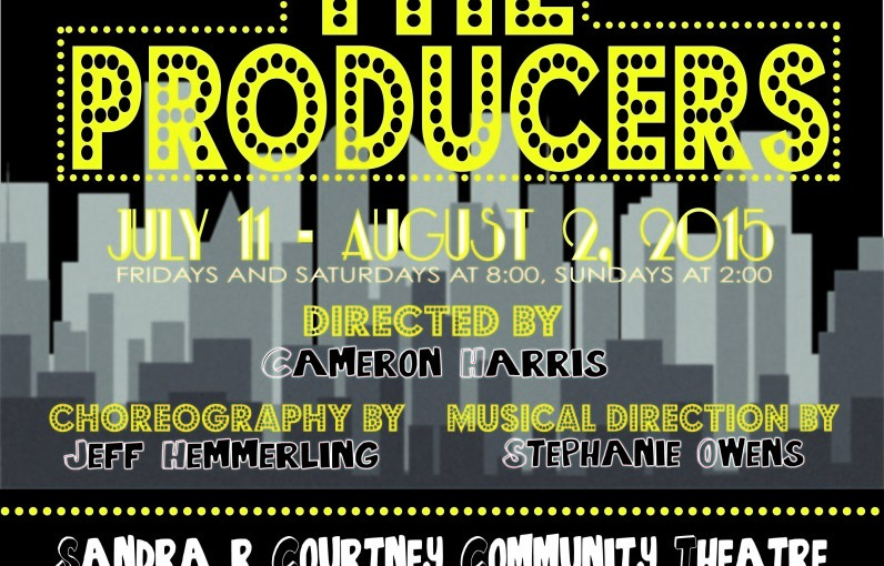 "August Theater Pick: Mel Brooks's ""The Producers"" by The Rialto Community Players"