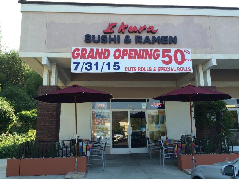 San Diego Ramen Scene- Ikura Sushi & Ramen, ScrippsRanch
