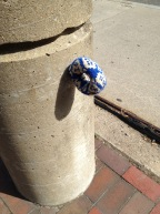 Yarn Bombing in Boston (photo credit... me! Ha!)