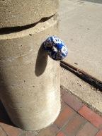 Yarn Bombing in Boston (photo credit... me! Ha!)