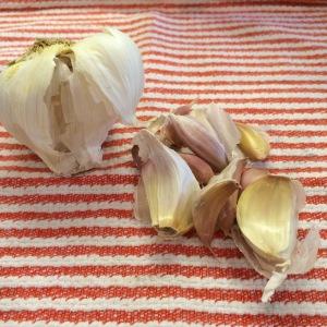 ...the garlic.