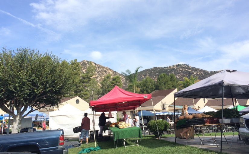 Monday's Farmers Market- Welk Resort