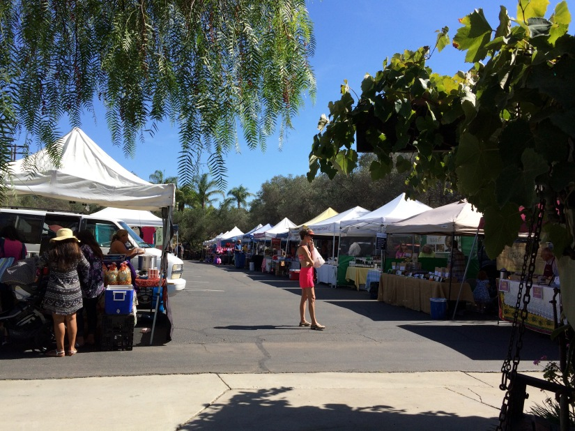 Friday's Farmers Market- Rancho Bernardo Winery