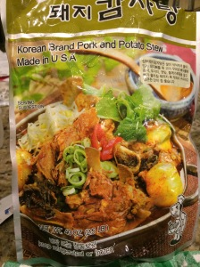 """Korean Brand Pork and Potato Stew"""