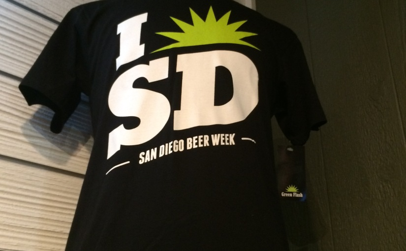San Diego Beer Week (1 week = 10 days) #1 Green Flash Brewing Co.