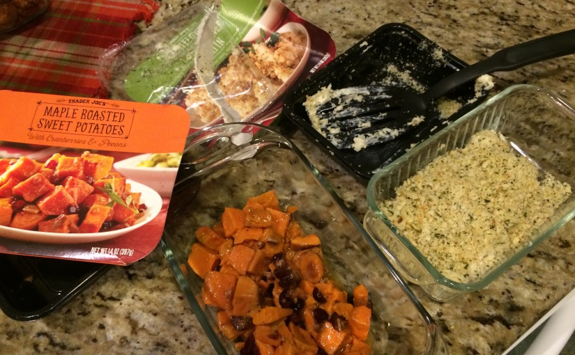 Trader Joe's Taste Testing- Fall Holiday Sides!