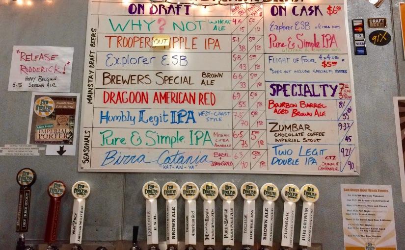 San Diego Beer Week #5 New English BrewingCompany