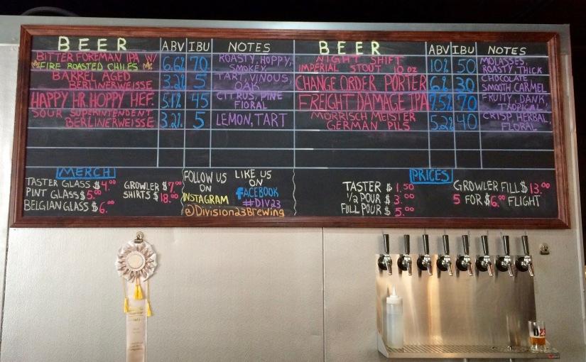 San Diego Beer Week 2015 #8 Division23