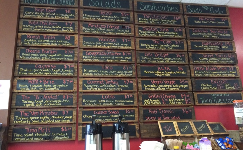 Thyme for Lunch in Miramar -&- Duck Foot Brewery