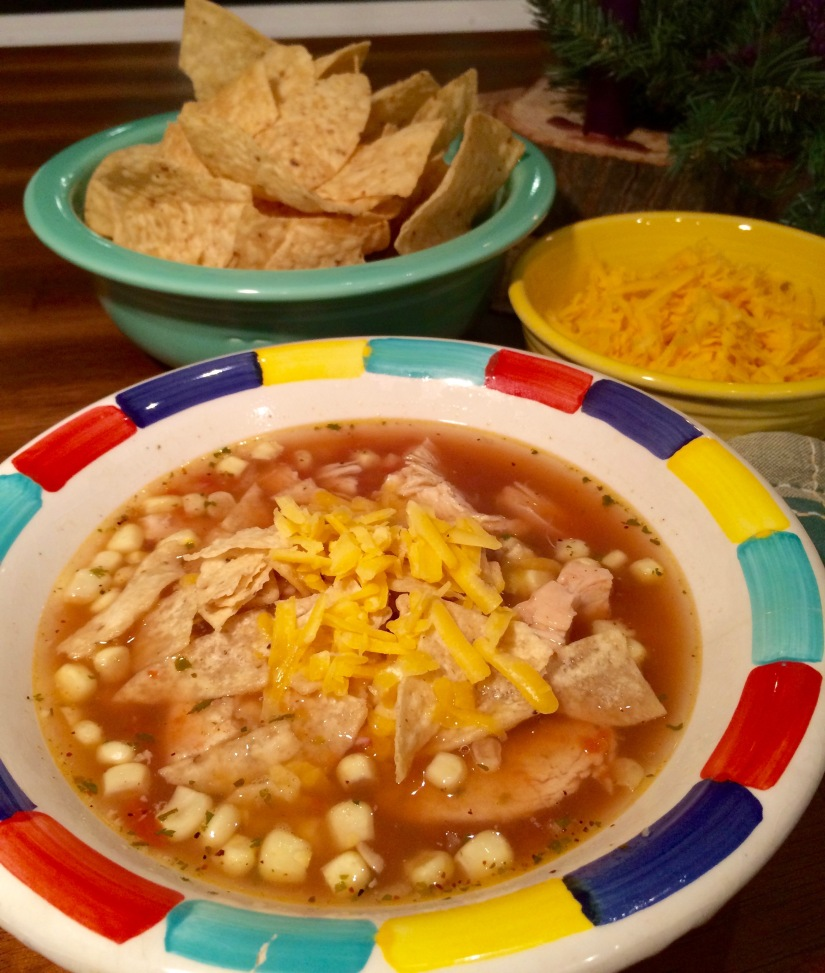 Quite Possibly The World's Best and Easiest Chicken TortillaSoup!