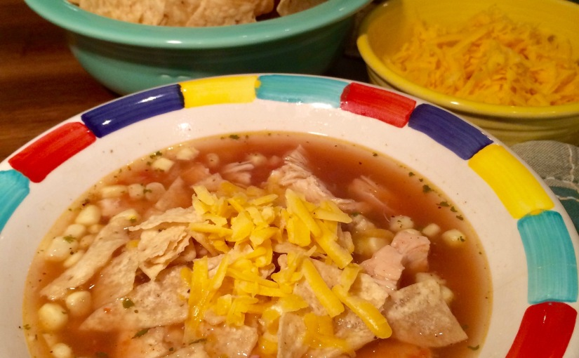 Quite Possibly The World's Best and Easiest Chicken Tortilla Soup!