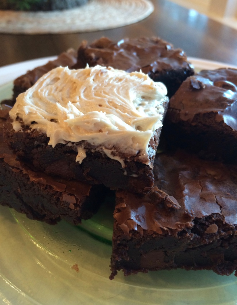 Irish Cream Liqueur Brownies- A Delicious Experiment and Two Recipes