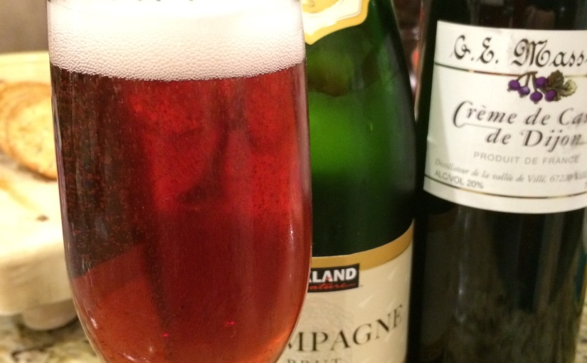 Kir Royale- New Cocktail for the New Year